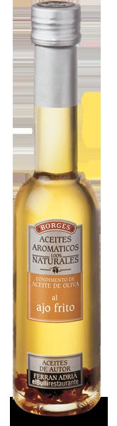 Оливковые масла с натуральными добавками Оливковое масло с жаренным чесноком