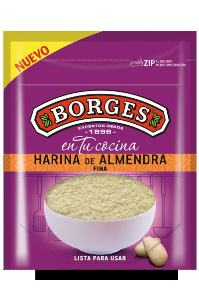 Упаковка миндальной муки Borges линии На вашей кухне