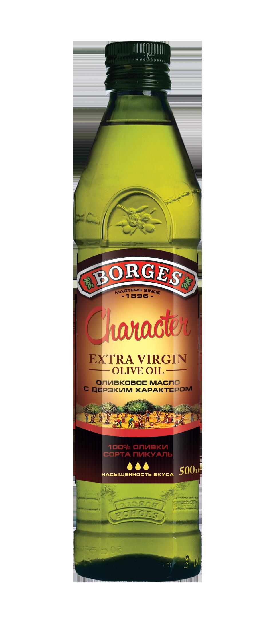 Односортные оливковые масла Extra Virgin CHARACTER