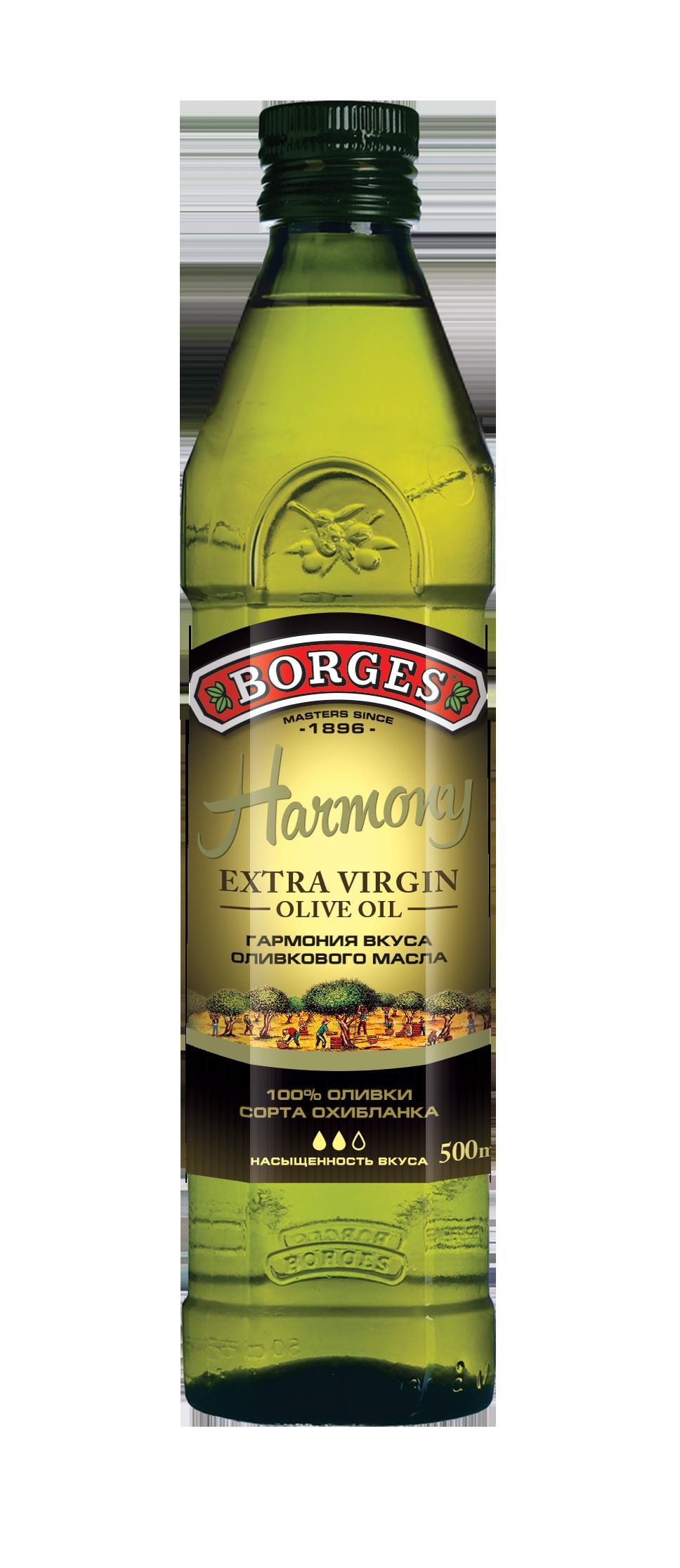 Односортные оливковые масла Extra Virgin HARMONY