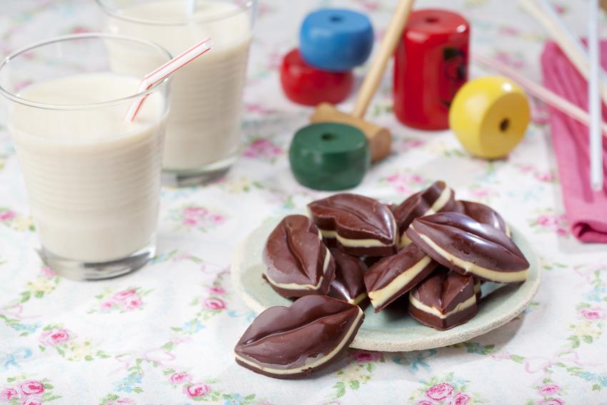 Десерты Шоколадные конфеты с оливковым маслом