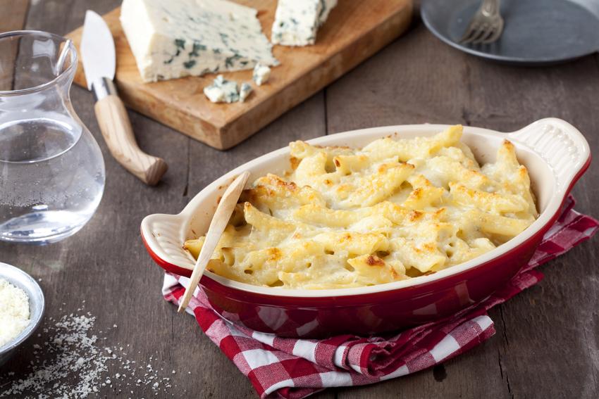 Паста Запеканка с сыром и Пенне Ригате