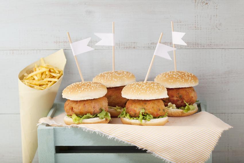 Ваши средиземноморские рецепты Гамбургер с тунцом