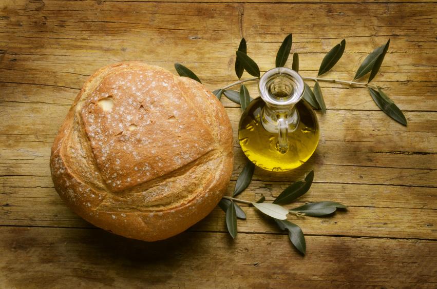 Десерты Хлеб с оливковым маслом