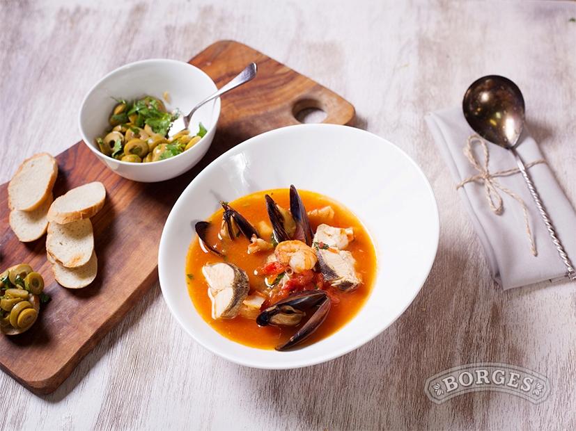 Супы и пюре Уха по-марсельски