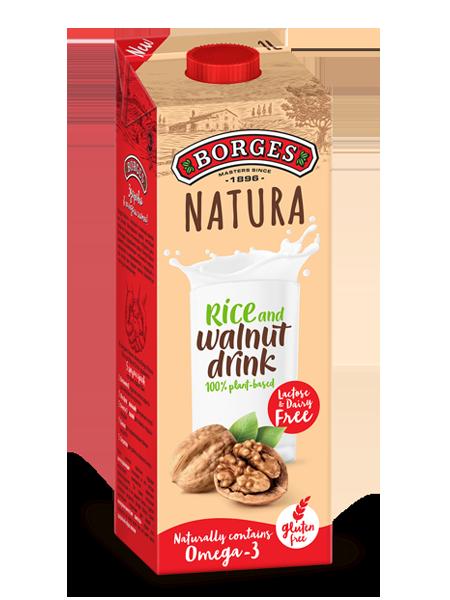 Ореховые напитки Напиток Natura Walnut на основе грецкого ореха